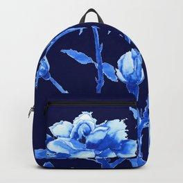 blue rose Backpack