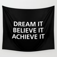 motivational Wall Tapestries featuring Motivational by Motivational