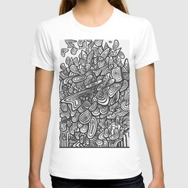Inifinite Abstract Pattern T-shirt