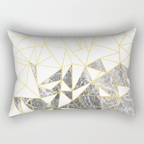 Ab Marb Rectangular Pillow