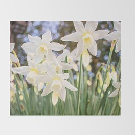 Kiss of Spring Throw Blanket
