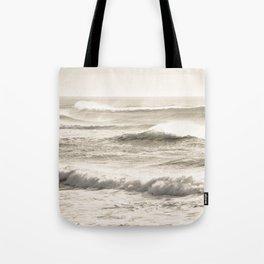 Windswept Waves Tote Bag