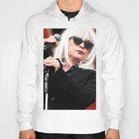 blondie Hoodies featuring Blondie by Euan Anderson