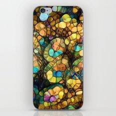 Peacock Rainbow Glitter iPhone & iPod Skin