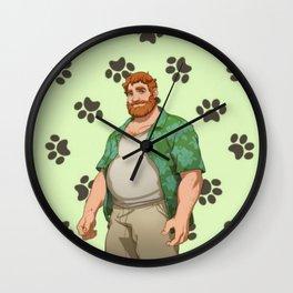 Dream Daddy: Brian Harding Wall Clock