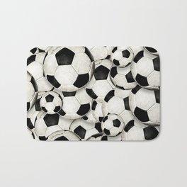 Dirty Balls - footballs Bath Mat