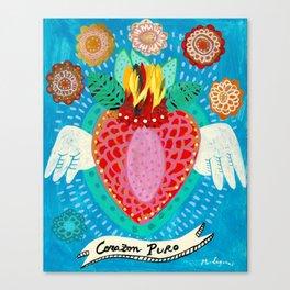 Corazon Puro Canvas Print