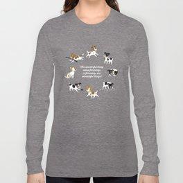 Farmdogs are wonderful things Long Sleeve T-shirt