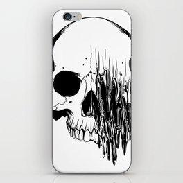 Skull #5 (Distortion) iPhone Skin