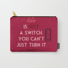 Castle (TV Show) Quotes | Martha Rodgers Carry-All Pouch