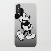 mickey iPhone & iPod Cases featuring Mickey by Small Worlds