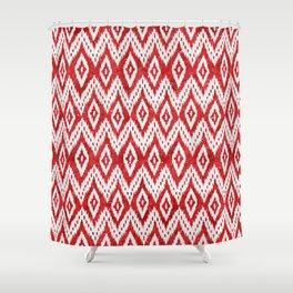 Bohemian Christmas - Ruby Shower Curtain