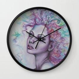 Verge of Frenzy Wall Clock