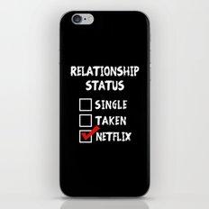 Relationship Status Netflix iPhone & iPod Skin