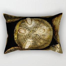 Log Roll Rectangular Pillow