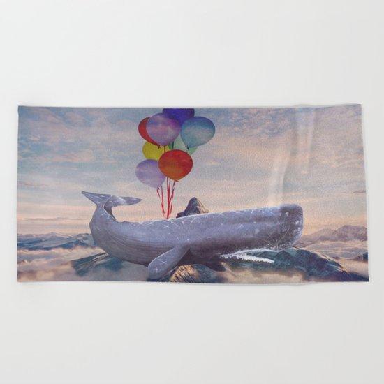 Lost in a dream  Beach Towel