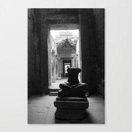 A portrait of Angkor Canvas Print
