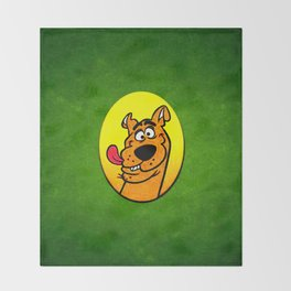 dog scooby Throw Blanket