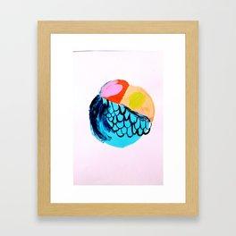 Flyball Framed Art Print