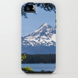 Mount Hood from Lost Lake iPhone Case