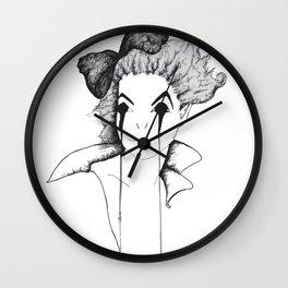Evil Pose Wall Clock