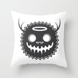 Monster 01 Throw Pillow