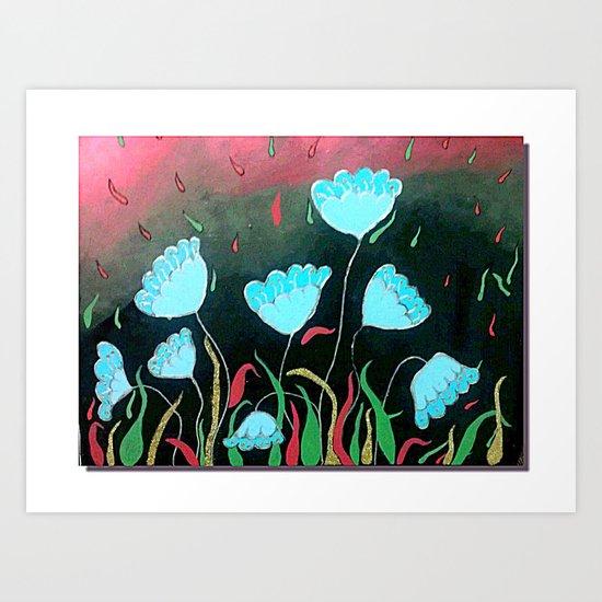 NightQueen Art Print