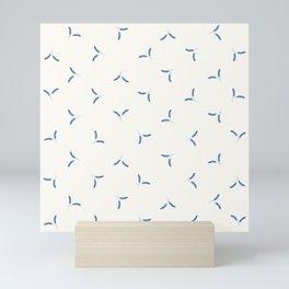 Santorini Ferns 2.0 Mini Art Print