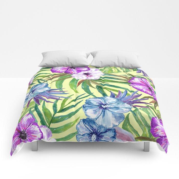 Tropical Summer #3 Comforters