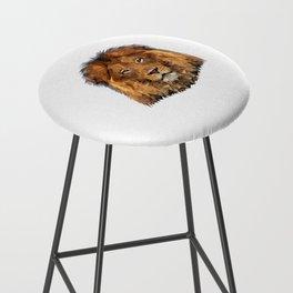 Lion poly Bar Stool