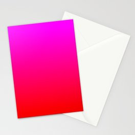Be My Valentine Ombre Stationery Cards