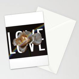 Love And Flowers Bring May Showers Stationery Cards