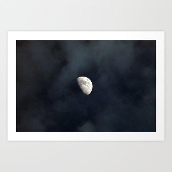 Lunar Jem Art Print