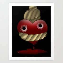 Anything for Love Art Print