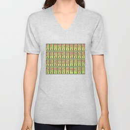 Braille Alphabet v2 Unisex V-Neck