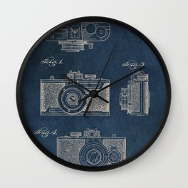 Cazin Camera patent art Wall Clock