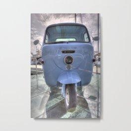 Lambretta Arcelik Lambro 200 Metal Print