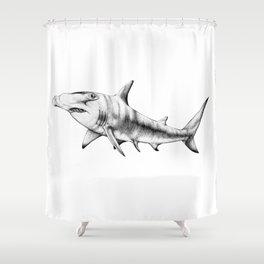 Hammerhead Shark Shower Curtain