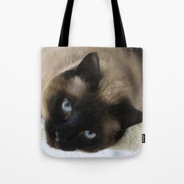 Siamese Soulful Expression Tote Bag