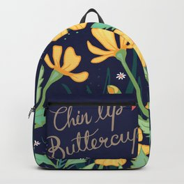 Chin Up Buttercup Backpack