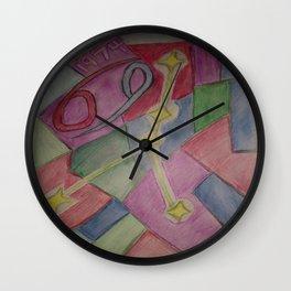 Cancer sketch Wall Clock