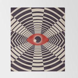 The All Gawking Eye Throw Blanket