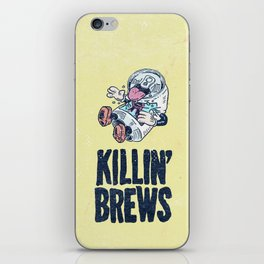 Killin' Brews iPhone Skin