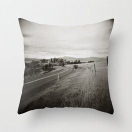 {  on the road } Throw Pillow