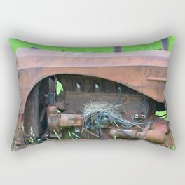 Nesting Tractor Rectangular Pillow