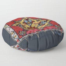 Antique Carpet Sadle Bag Floor Pillow