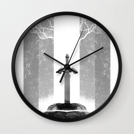 The Legend of Zelda: The Master Sword Wall Clock