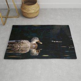Reflecting Duck Rug