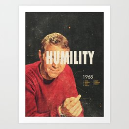 Humility 1968 Art Print