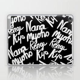 Nam Myoho Renge Kyo - Light on Dark Laptop & iPad Skin